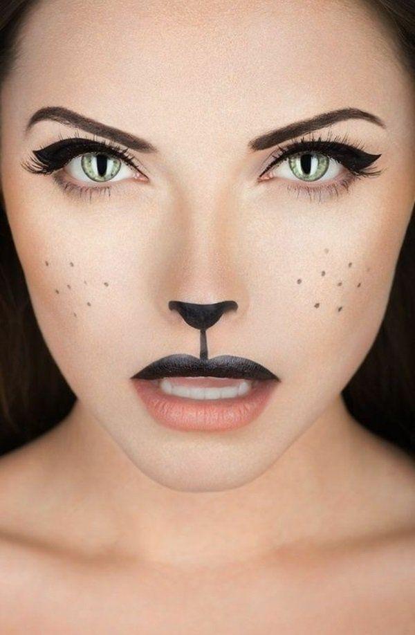wie katze schminken