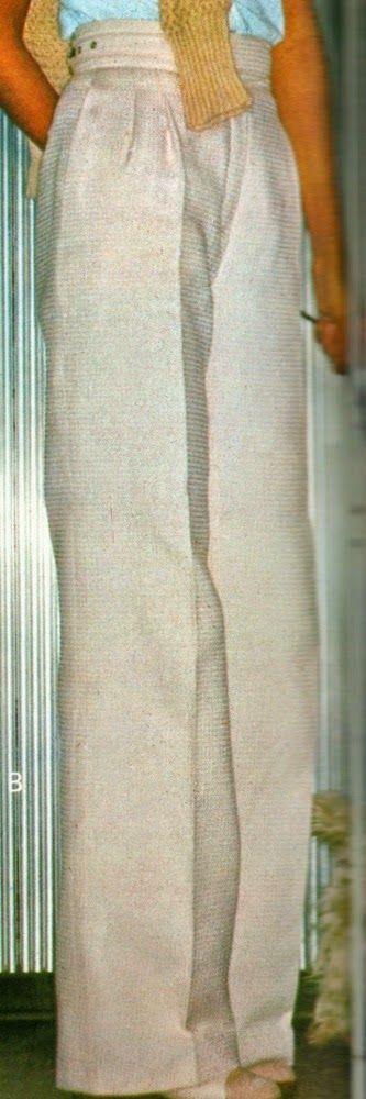 Cucire pantaloni lunghi classici