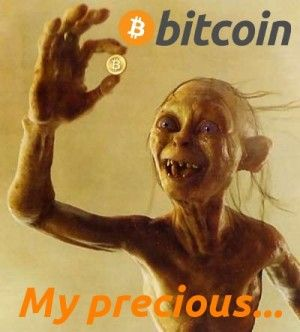 "Do you trust Online Currency? #bitcoin  yes they are ""precious"" lol consider a small donation to 1LdcpHg9sqcywxaZjcpSxWsbr5sYK2nzYk"