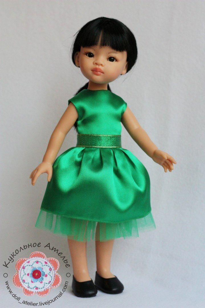 Нарядное платье для новогодних вечеринок🎉<br>Выкройка:https://vk.cc/5WLRS1<br><br>#паоларейна #куклы #paolareina #паолка #маминакукла #новыйгод