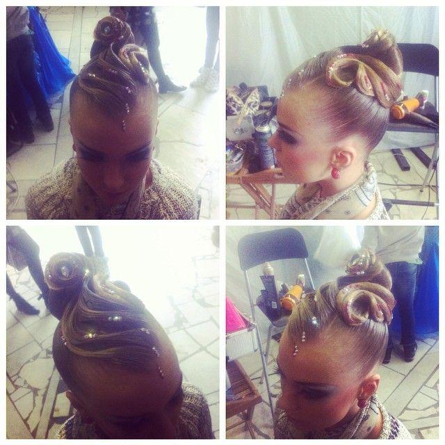 Hair by Natali Ermakova #танцы #бальныетанцы #прическа #прически #макияж #стандарт #латина #10танцев #десятка #десятьтанцев #dance #ballroom #ballroomdance #dancer #standart #latin #hair #hairstyle #makeup
