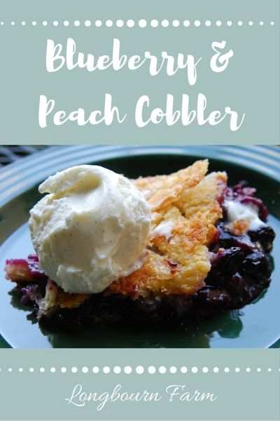 Blueberry & Peach Cobbler is a unique summer dessert sure to please anyone! My special method for preparing the filling ensures you get it right every time. Check it out!