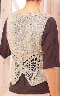 Free Knitting Patterns: Sleeveless