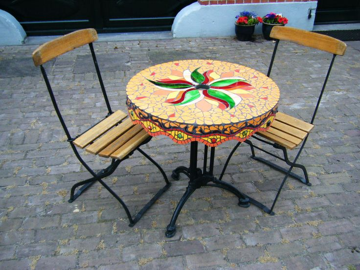 mozaiek tafel tafelbladen pinterest