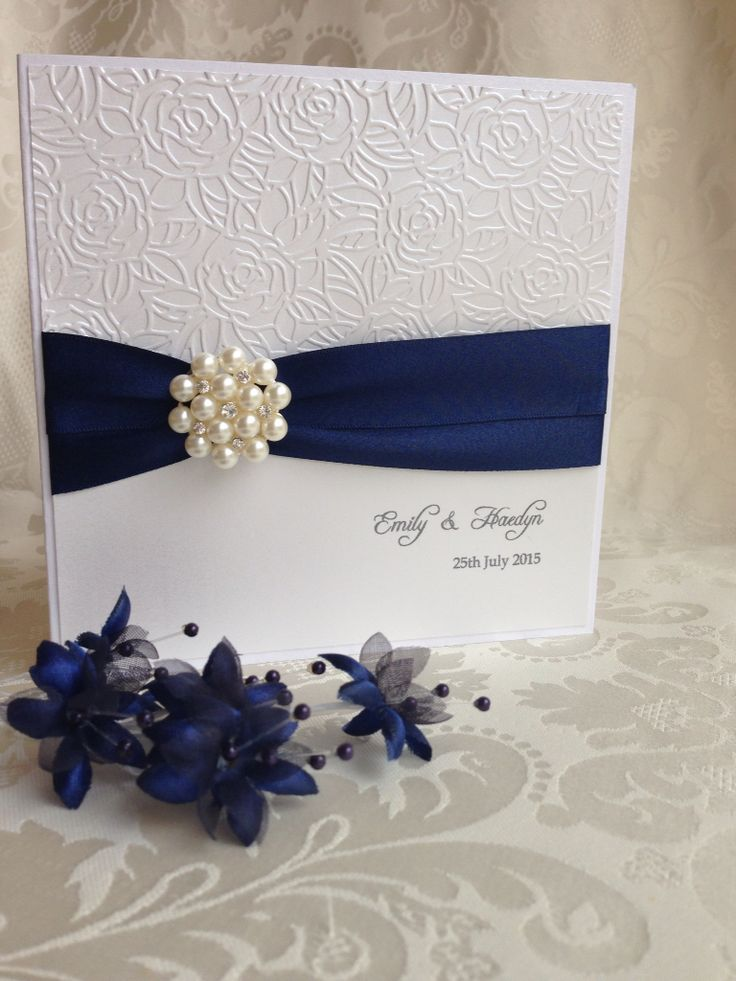 Beautiful hand made wedding invitations