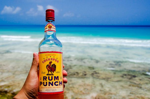 """Ready to drink. Just add ice!"" Learn to Lime with Cockspur Rum Punch"