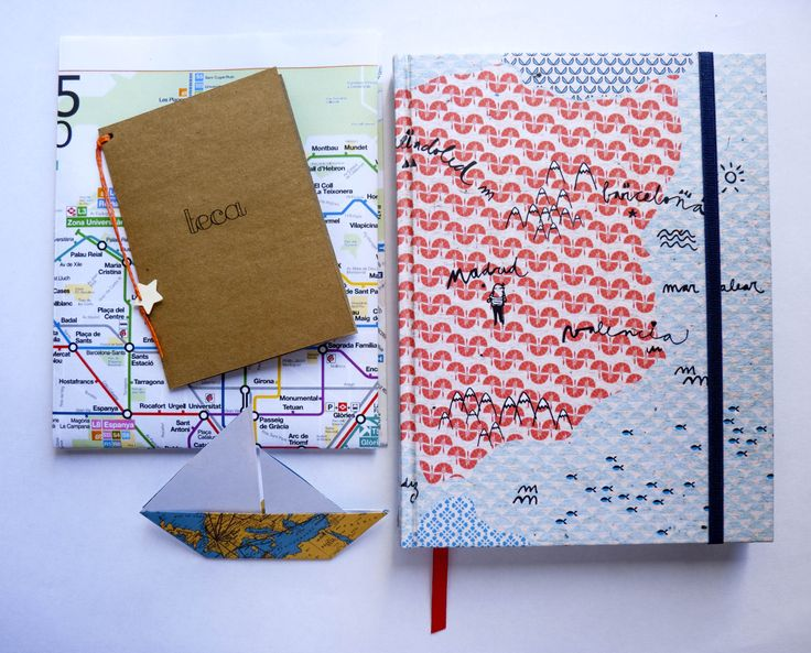 travel, origami, cuaderno