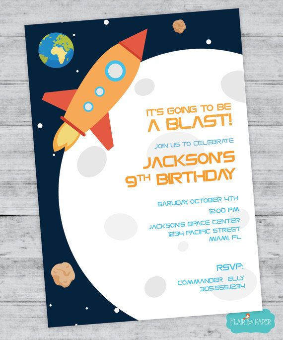 38 best space invitation images on pinterest cards for Outer space paper