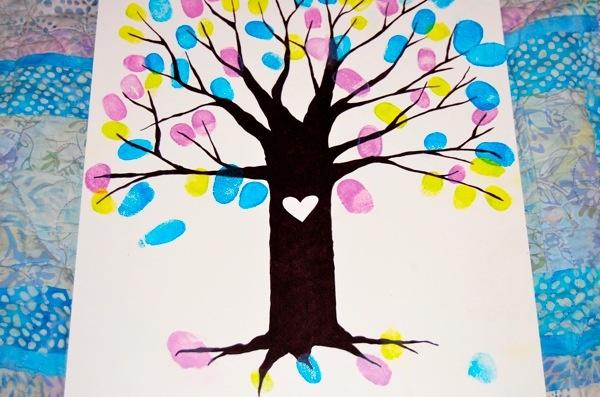 Thumbprint Tree: Crafts Ideas, Awesome Wedding Ideas, Fingerprints Trees, Color, Crafts Diy Kids Fun, Cute Ideas, Fun Ideas, Thumbprint Trees, Kids Choose