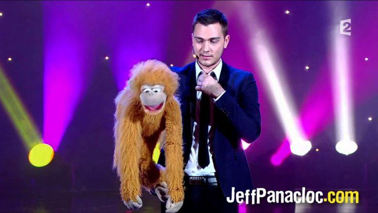 JEFF PANACLOC au grand cabaret avec Laurent Baffie.