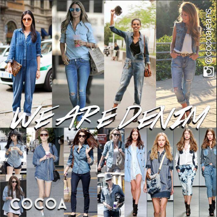 #wearedenim #stylish #trendy #fashion #woman #tagsforlikes #denim #woman #cocoajeans