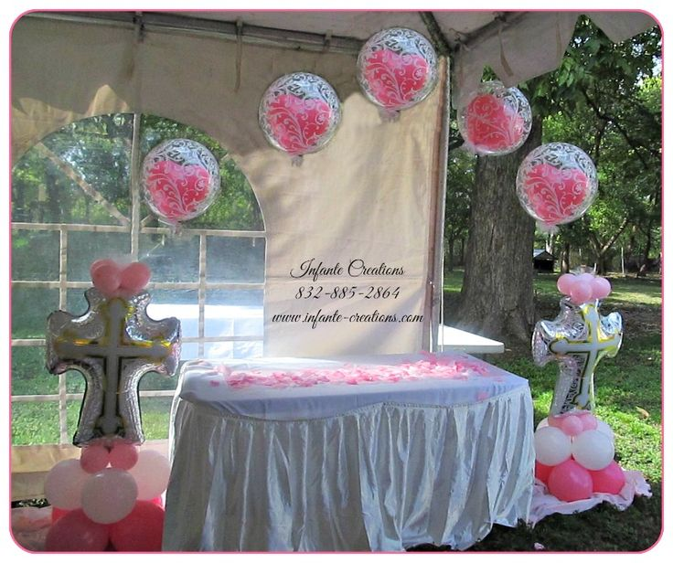 Baptism Communion Balloon Arch Balloon Arches
