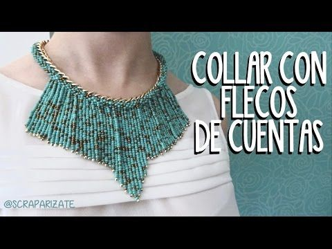 Còmo Hacer un Collar para Mujer con Mostacillas y Chaquiras- Hogar Tv por Juan Gonzalo Angel - YouTube