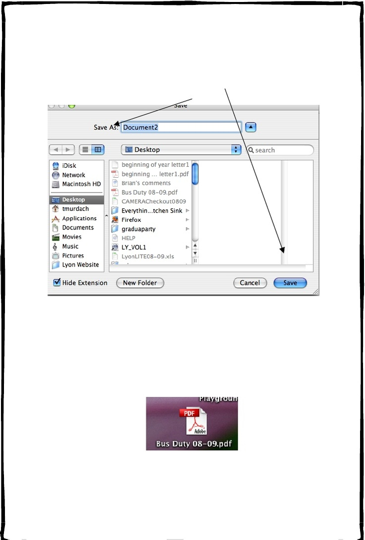 How to turn a document on a Mac into a .pdf BRILLIANT! Why