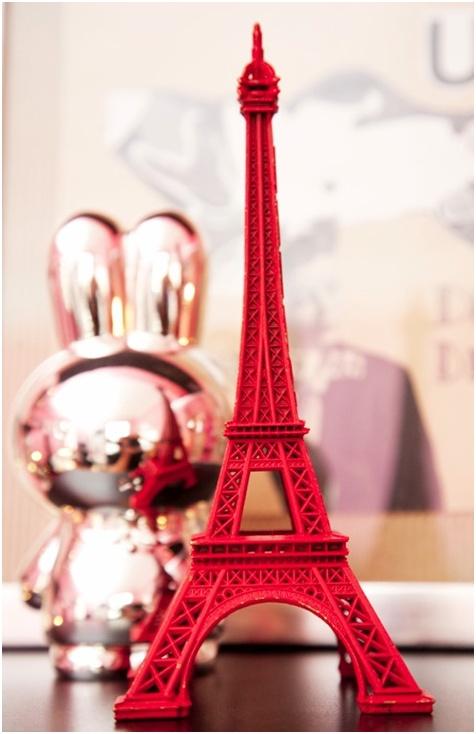 Pink Tour Eiffel