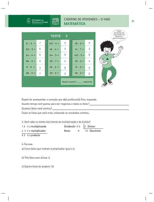 Pin Em Prova Matematica