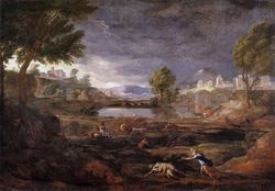 Paysage avec Pyrame et Thisbé