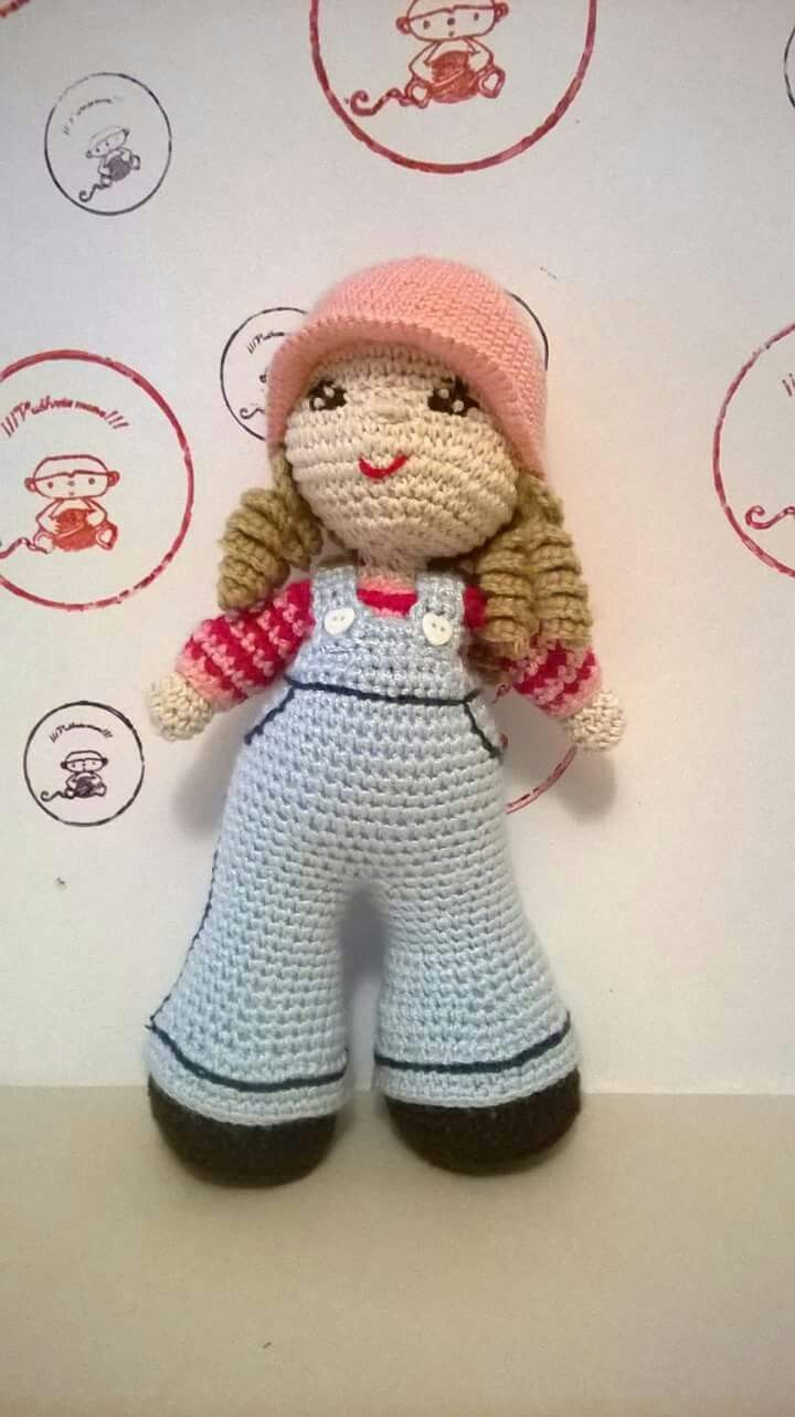 Inspired in Sara key dolls created by facebook Vuelvete mono
