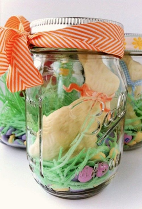 239 best easter images on pinterest easter decor easter party and easter egg mason jar decoration diy easter gift ideas handmade easter table decor ideas negle Gallery