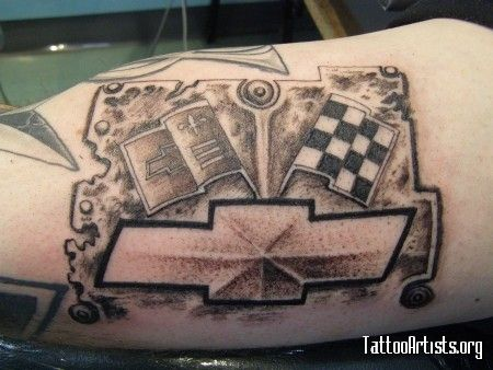 72 best chevy tattoo ideas images on pinterest chevy tattoo rh pinterest com Chevy Emblem Chevrolet Logo chevy bowtie tattoos pics