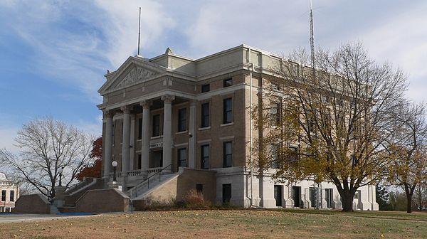 Pawnee City Nebraska >> Pawnee County Courthouse Pawnee City Nebraska Nebraska Counties