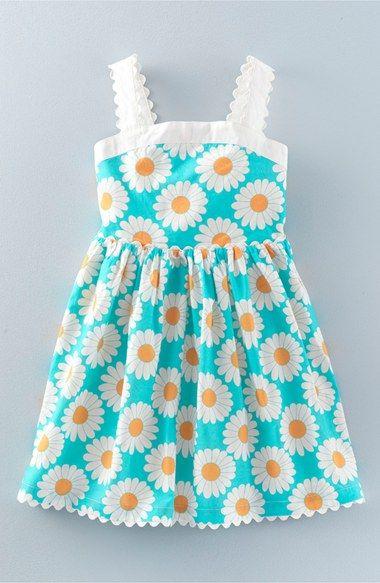 Mini Boden 'Fifties Summer' Print Sundress (Toddler Girls, Little Girls & Big Girls)