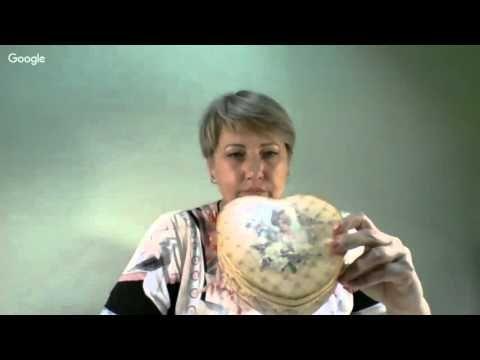 10 сессия Университета Декупажа. Седьмой день. Юлия Вал - YouTube