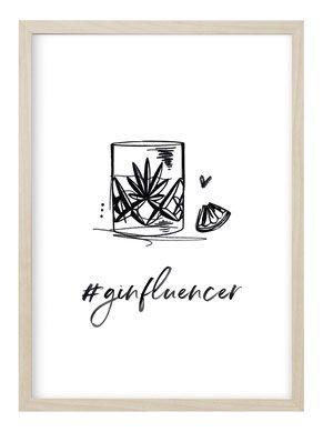 Poster / ginfluencer