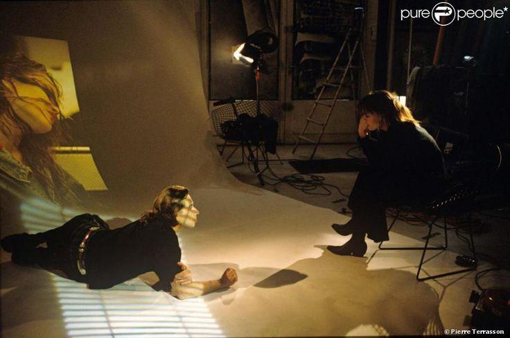 Vanessa Paradis travaillant avec le photographe Pierre Terrasson à la fin des années 1980