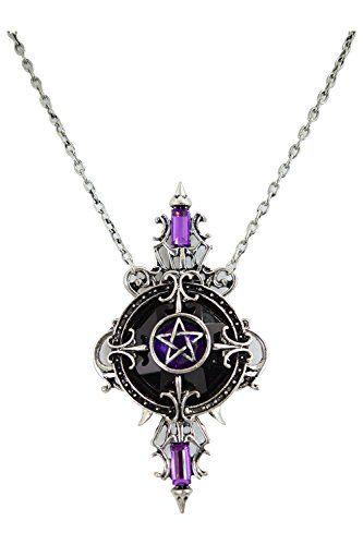 Restyle Mystic Mirror Gypsy Gothic Purple Pentagram Neckl... http://www.amazon.com/dp/B01CUS43FW/ref=cm_sw_r_pi_dp_ADcgxb09WKFPH