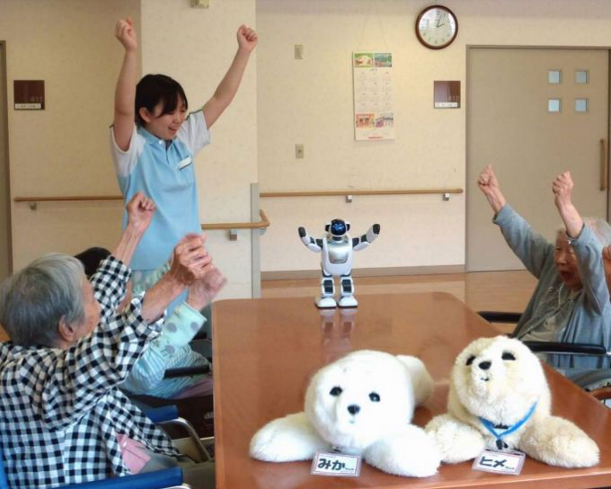 Automated Caregiving: Robots in Healthcare  #HealthcareITBlog