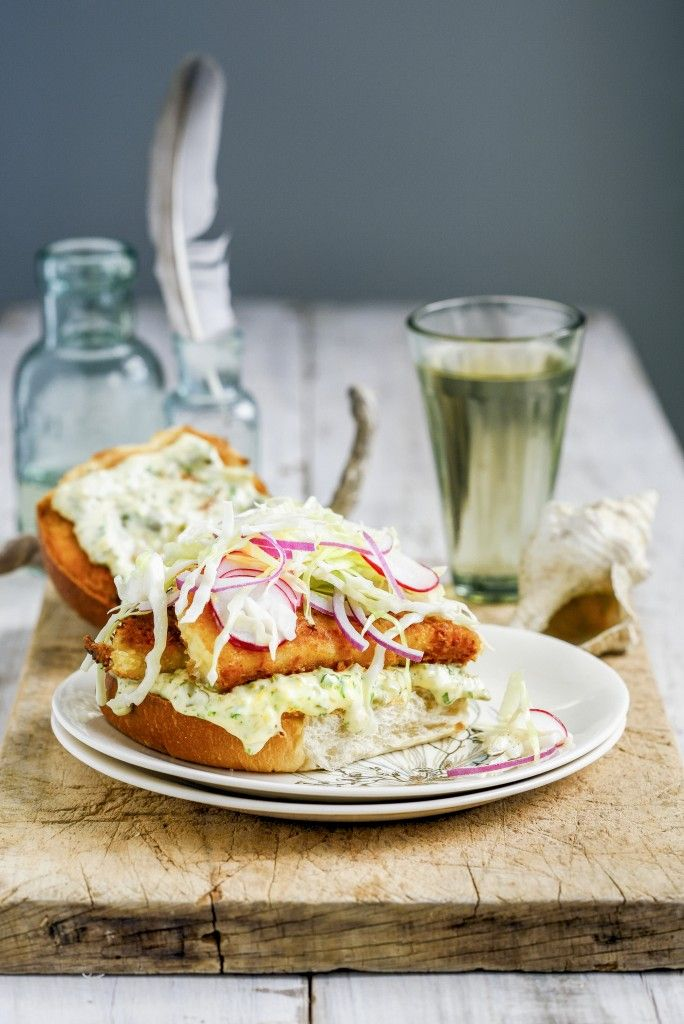 The Ultimate Fish Burger with From The Kitchen