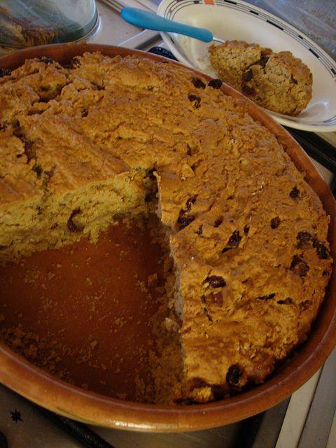Fanouropita a Vegan Cake -