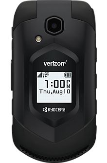 Kyocera DuraXV LTE with camera in Black