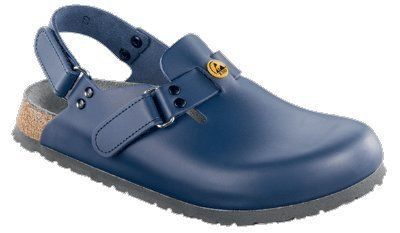 Alpro clogs C 100 ESD from Leather in blue with a regular insole Alpro. $97.82. antistatic sole. leather