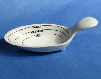 This is SO cool...an old apothecary measuring spoon. Now we just get plastic lol