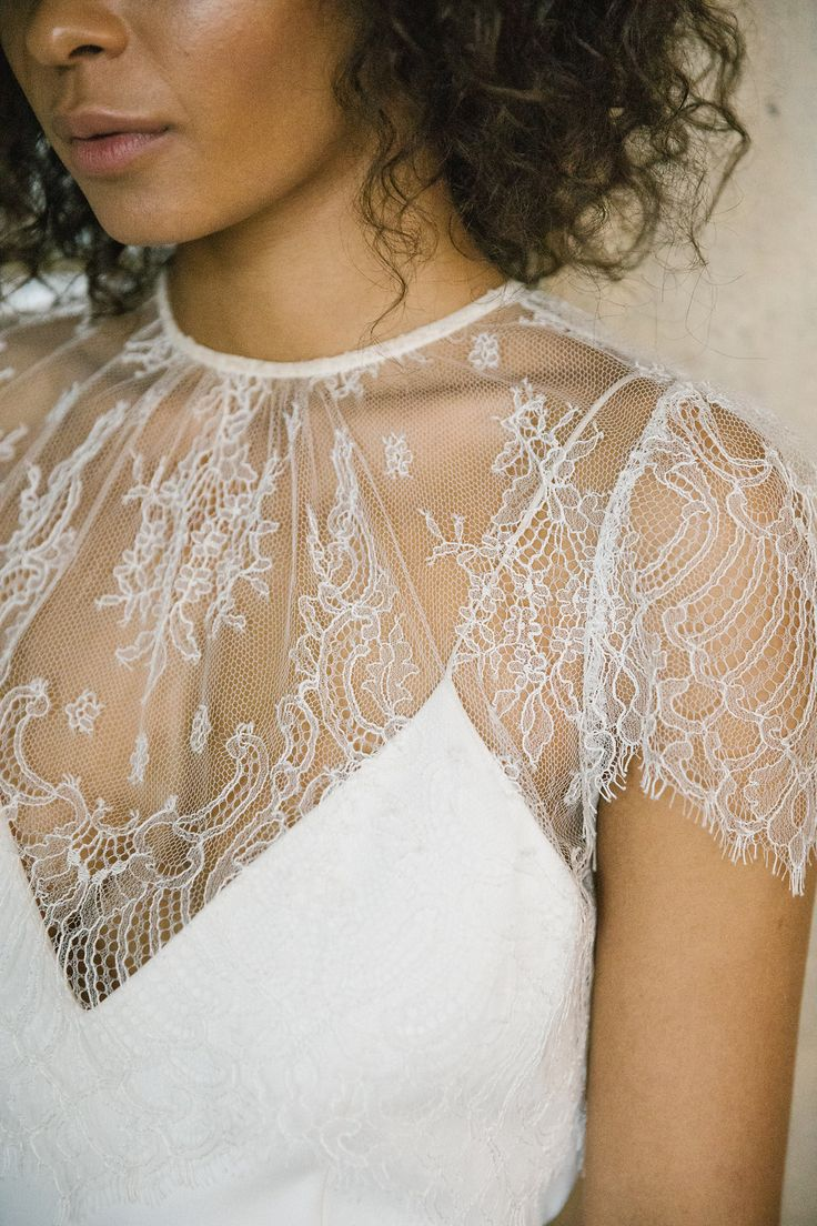 Alexandra Grecco - Lewis Gown & Lula Lace Crop Top