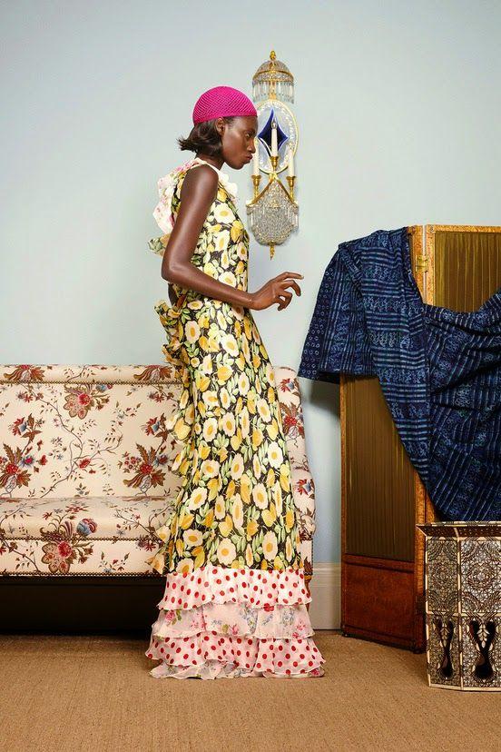 Playing Dress-up: Duro Olowu SS 2015