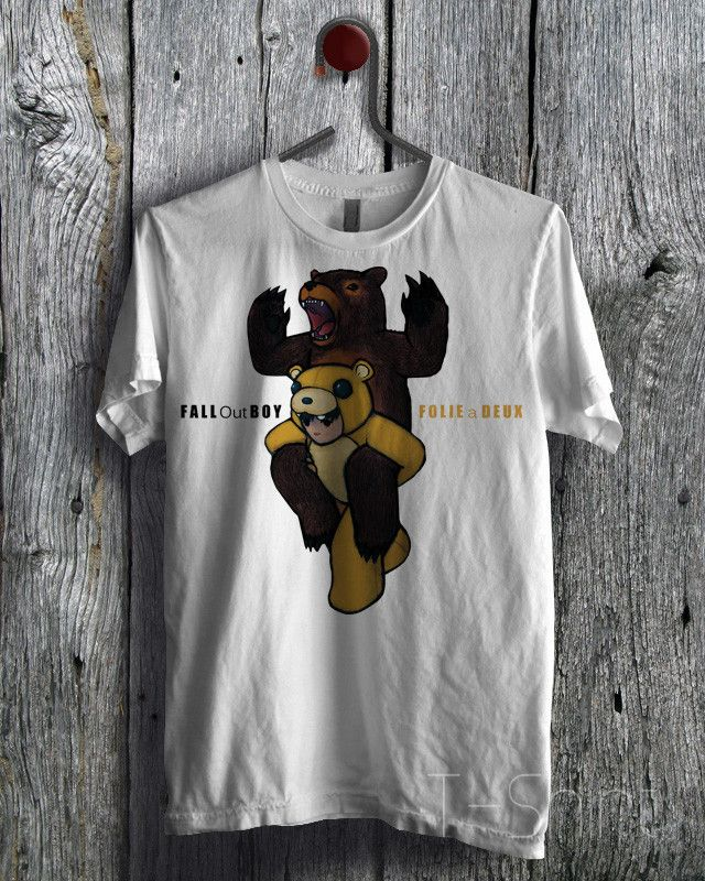 Fall Out Boy Folie a Deux Tee - 4Lf Unisex Tees For Man And Woman / T-Shirts / Custom T-Shirts / Tee / T-Shirt