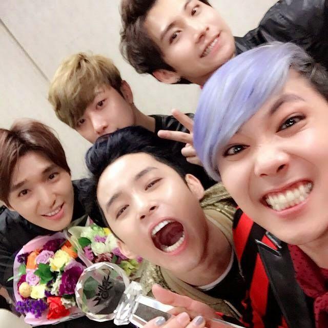 FT Island win 1st with 'Pray' at Music Bank - Latest K-pop News - K-pop News | Daily K Pop News