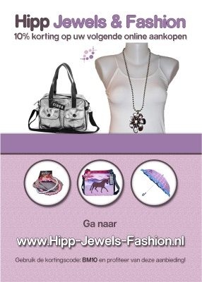 A5 Flyer voor Hipp Jewels and Fashion