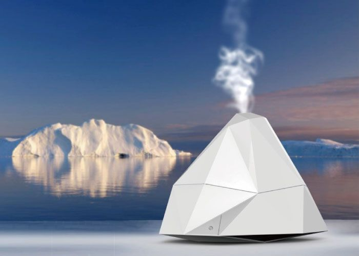 冰山狀加濕器iceberg Shape Humidifier Daily 2019 Humidifier