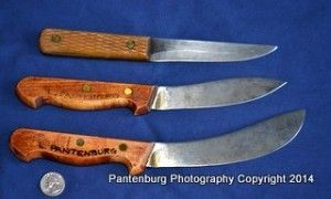 "Get a useful, historic survival knife|The mountain man's Russell Green River l Looking for some inexpensive, quality meat processing knives? A standard of the western fur trade was a do-all utility knife manufactured by J. Russell  Co. and sometimes referred to as a ""Green River"". Here's a look at the Russell knife patterns, and how they shape up today."