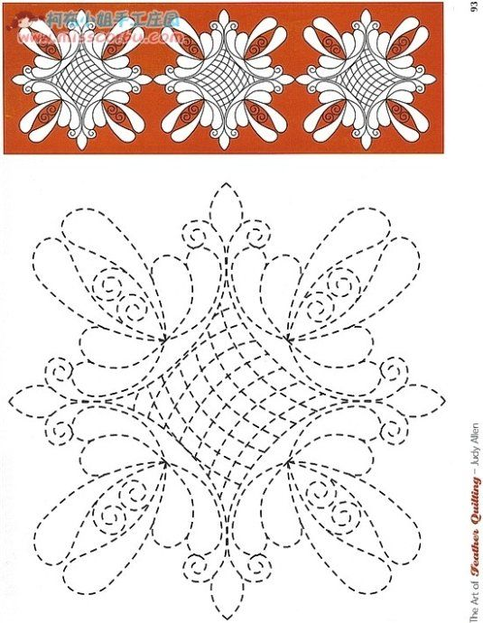 Quilt Stencils Hand Quilting : 317 best images about quilting paterns on Pinterest Fashion fabric, Machine quilting and ...