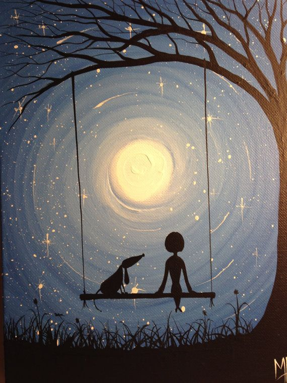 Love this! Swinging to the light of the noon... Painting by Michael H. Prosper