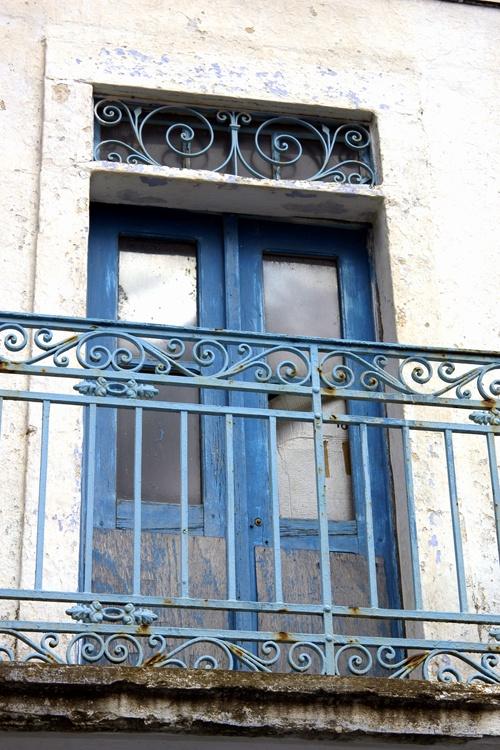 GREECE - traditional balcony -  #Oil & Vinegar, #Greece