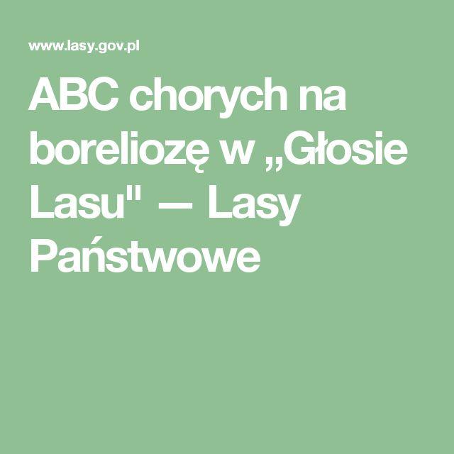 """ABC chorych na boreliozę w """"Głosie Lasu"""" — Lasy Państwowe"""