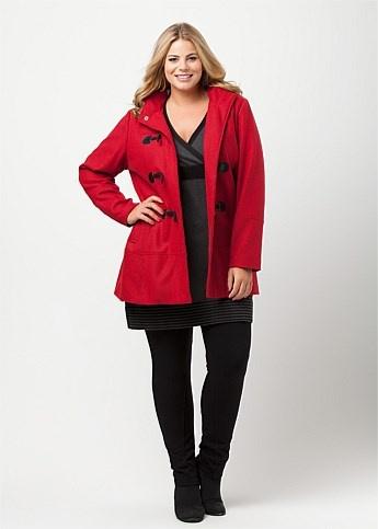 #Virtu Portland Coat #plussize #curvy