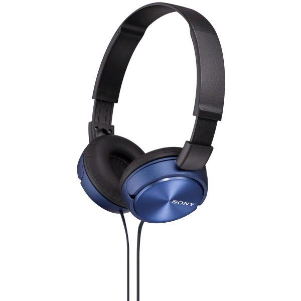 Sony MDR-ZX310L niebieskie - Słuchawki i mikrofony - Satysfakcja.pl