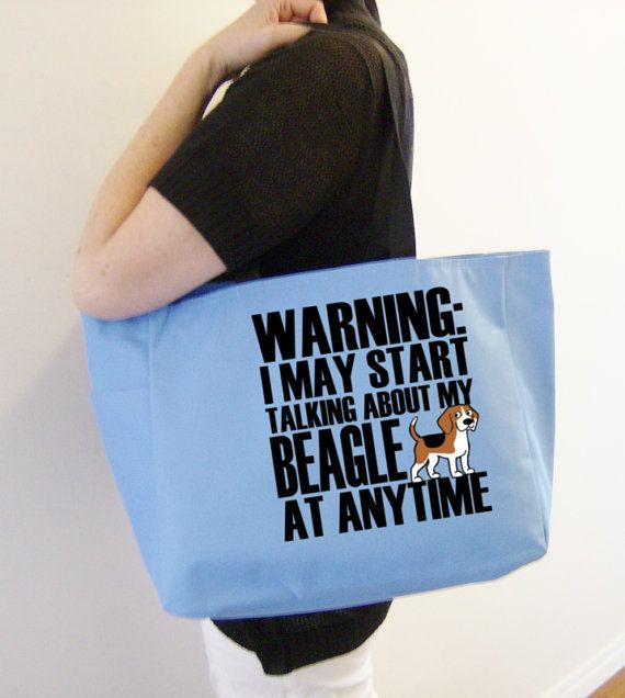 Great dog park bag or simply to show your love of beagles!